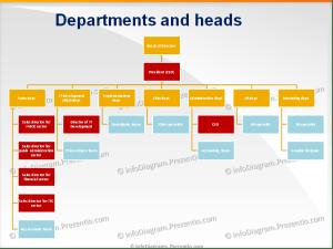 IT pany structure diagram schema