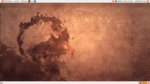 Ubuntu instalado no computador