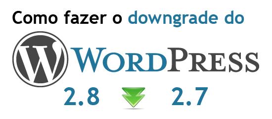 wordpress_downgrade