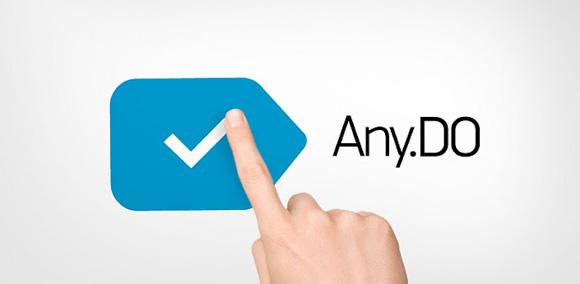 Aplicativo Any.DO para lista de tarefas