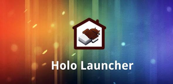 Holo Launcher – Um ótimo visual para o seu Android