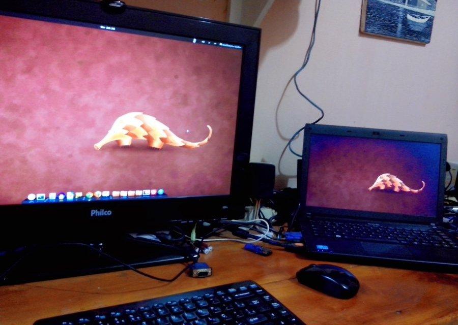 Trocando o monitor principal no Ubuntu - InfoDicas