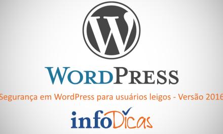 Segurança em WordPress – Versão 2016