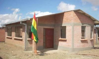 Viviendas sociales en Bolivia