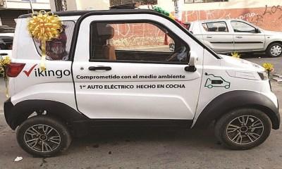 Autos eléctricos bolivianos