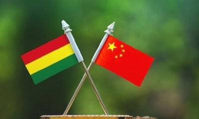 China felicita a Arce
