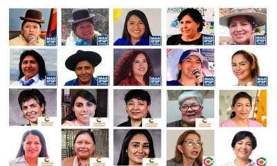 Paridad de género en el Senado de Bolivia