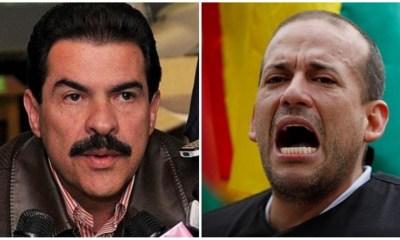 Manfred y Camacho en elecciones