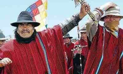 Mallku candidato a gobernador de La Paz