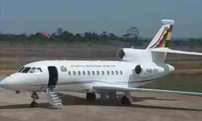 Avión presidencial de Bolivia