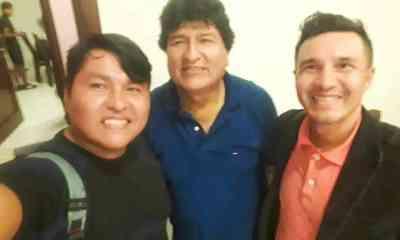 Pedro Garcia candidato a gobernador de Santa Cruz