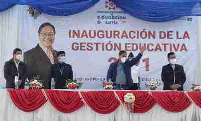 Inicio de clases en Bolivia