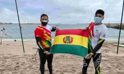 Bolivia en aguas abiertas de Sudamericano
