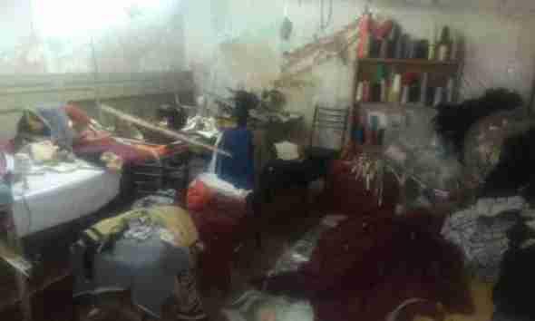 Bolivianos taller clandestino en Pompeya