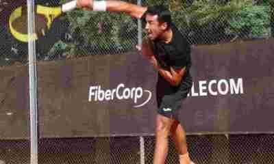 Tenista boliviano Hugo Dellien en Roland Garros de Francia