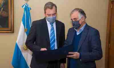 Embajador de Bolivia en Argentina Ramiro Tapia Sainz