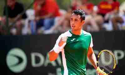 Tenista boliviano Hugo Dellien