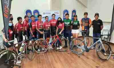 Ciclistas bolivianos