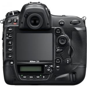 Nikon D4, kamera canggih penuh tombol