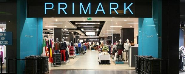 Primark prevê crescimento de 13% nas vendas