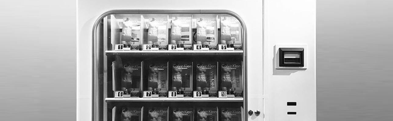 Vending machines também já vendem cuecas