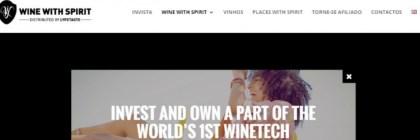 Wine With Spirits financia-se através da Seedrs
