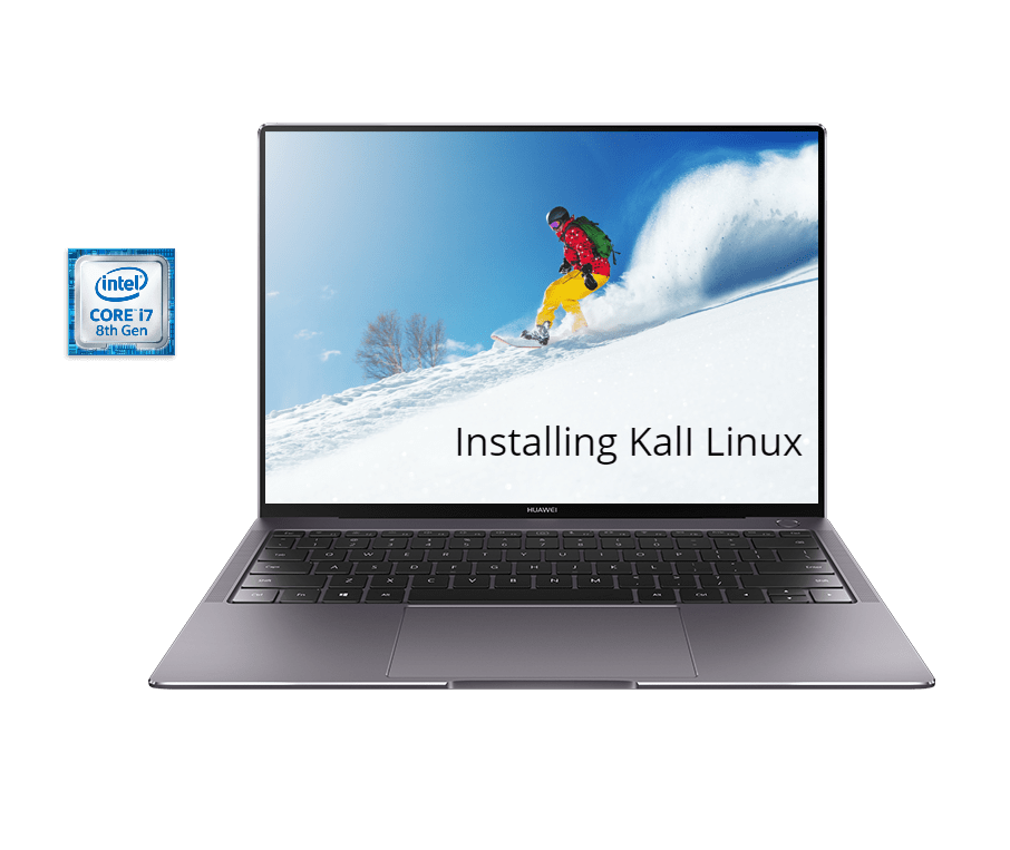 How to install Kali Linux in Huawei Matebook X Pro - infofuge