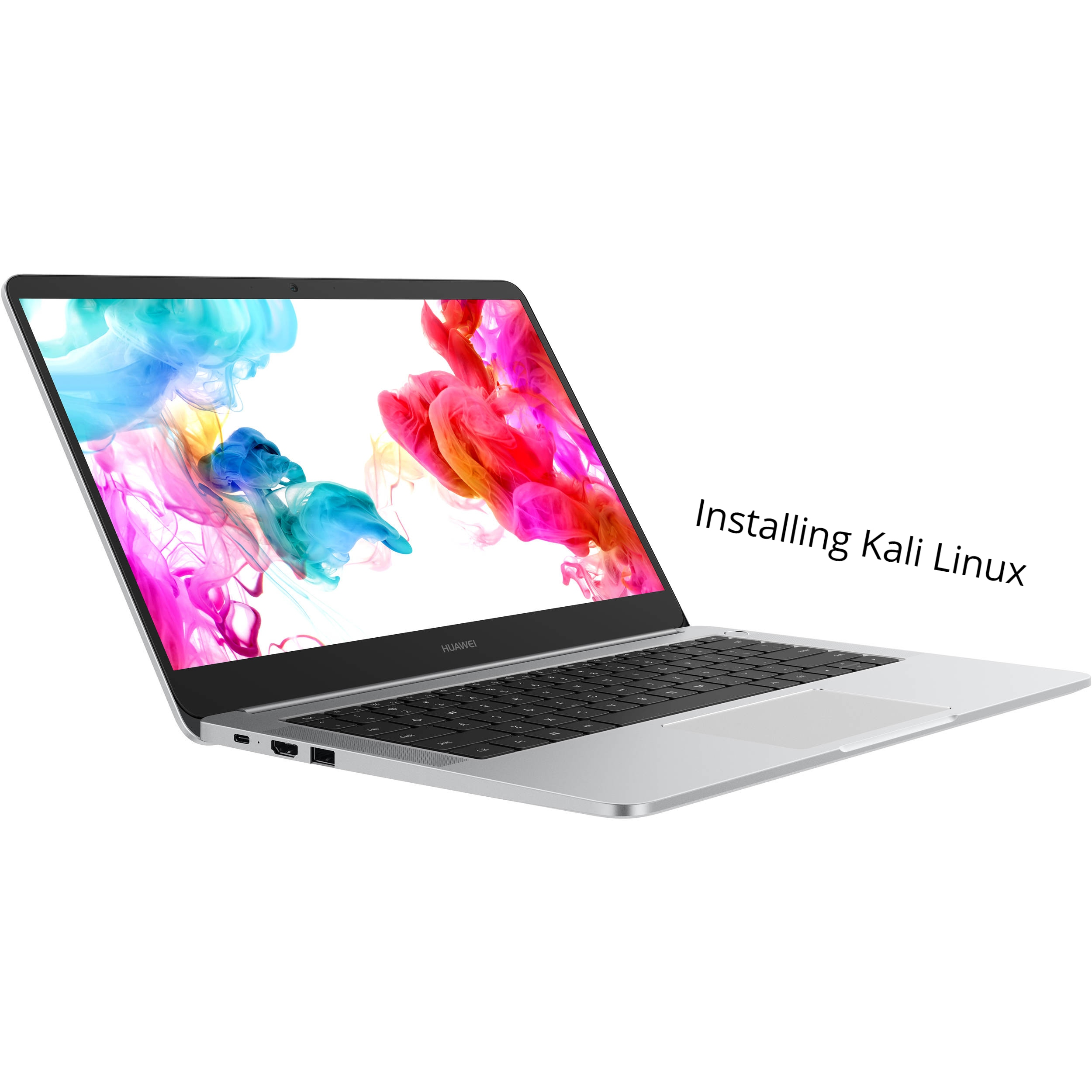 How to install Kali Linux on Huawei Matebook D - infofuge