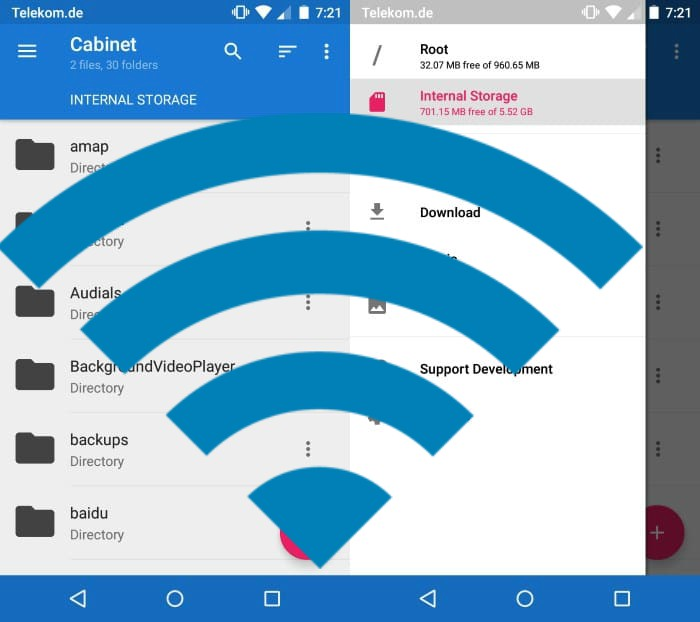 Find Wifi password in android with root
