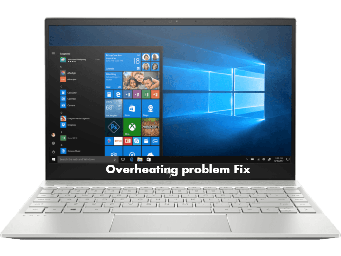 HP Envy 13-ah0044TX Overheating issue fix