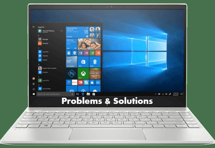 HP Envy 13-ah0044TX Problems