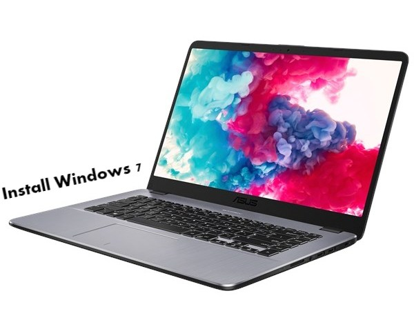 Install Windows 7 on Asus VivoBook 15 X505
