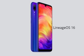 Redmi Note 7 LineageOS 16
