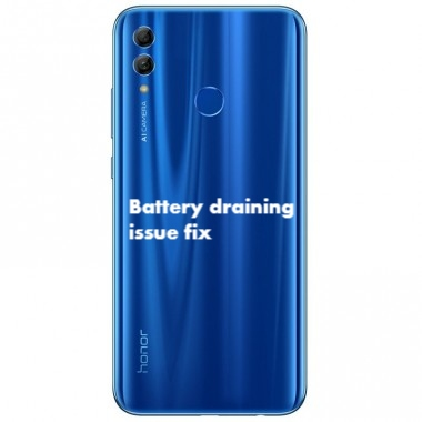 How to Fix Honor 10 Lite Battery draining fast problem fix