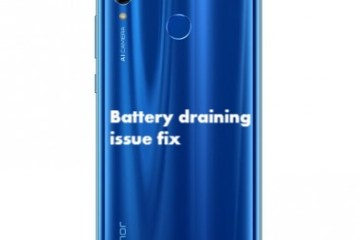 Honor 10 Lite Battery draining