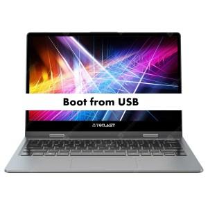 Teclast F5 Boot from USB