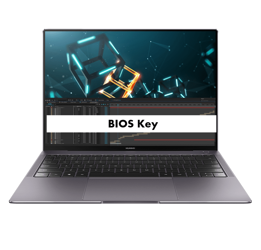 Huawei MateBook X Pro BIOS Key