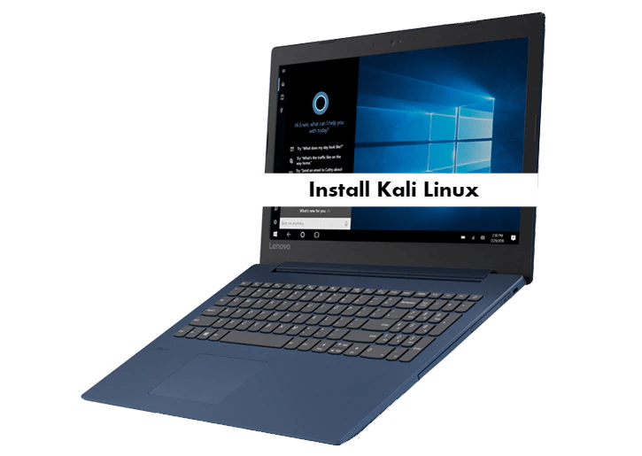 How to install Kali Linux on Lenovo Ideapad 330S from USB