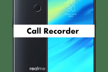 Realme 2 Call Recorder