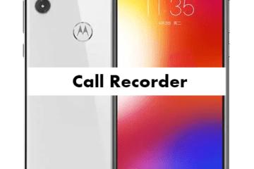 Motorola P30 Note Call Recorder