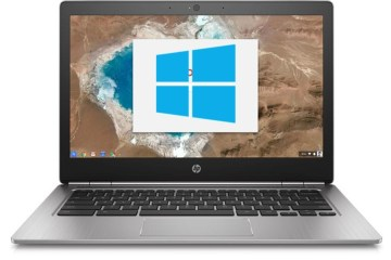Install Windows 10 on HP Chromebook 13