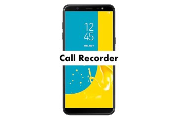 Samsung Galaxy J8 Call Recording