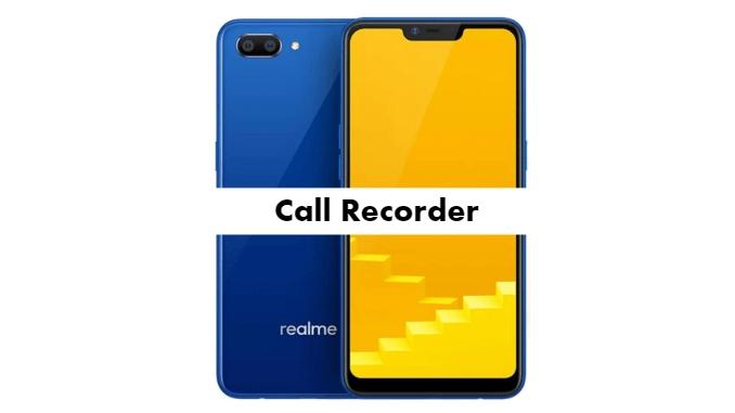 Realme C2 Call Recorder for recording calls automatically