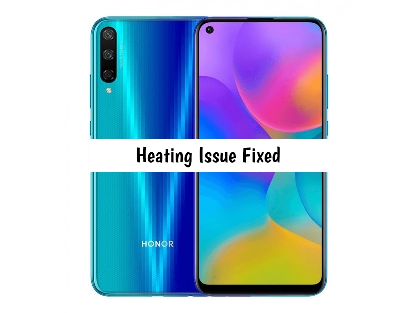 Honor Play 3 heating issue