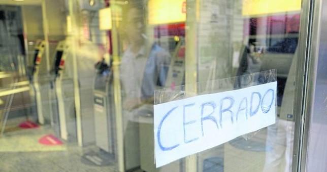 Viernes sin bancos por reapertura de paritarias