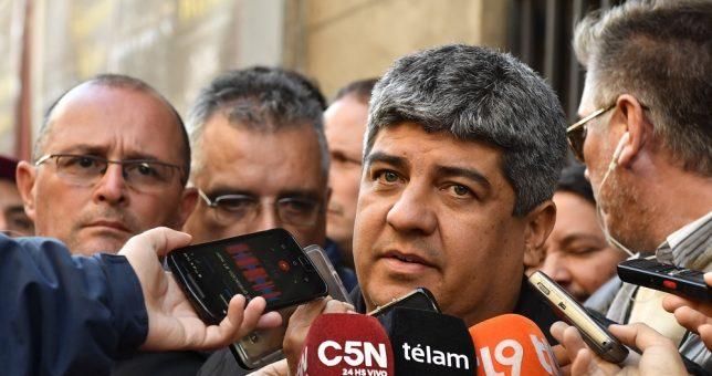 """Pablo Moyano advierte: """"no descartamos llevar adelante un paro de 48 horas"""""""