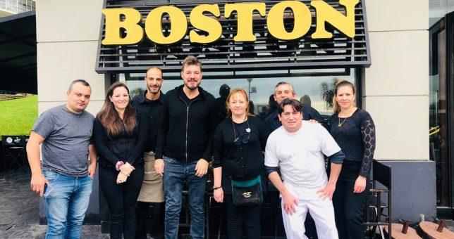 Tinelli se solidarizó con los trabajadores de La Confitería Boston