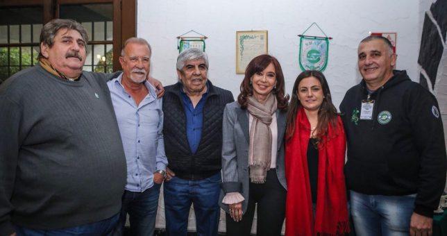 Moyano y CFK cerraron una grieta de 7 años