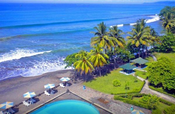 Hotel di Pelabuhan Ratu Sukabumi dekat Pantai yang bagus