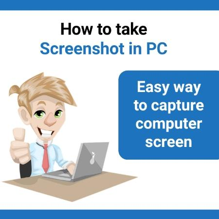 how to take a screenshot in PC